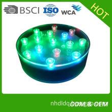 China Wholesale Battery Operated Under Vase Led Light Display Base For Crystal Vases