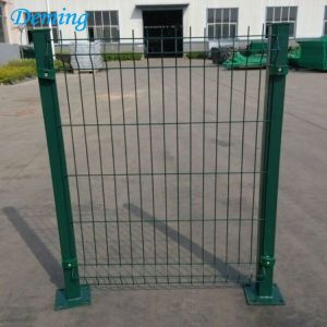 Welded Wire Mesh Powder Coated Curve Bending Fence