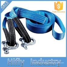 HF-003 alta calidad fuerte Universal Tow Rope Mini herramienta de emergencia 2 toneladas de cuerda de remolque del coche Auto Tow Strenching Rope
