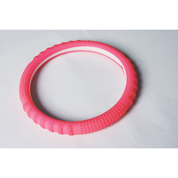 China New Product for Silicone Steering Wheel Cover,Pink Silicone Steering Wheel Cover,Black Silicone Steering Wheel Cover,Silicone Steering Wheel Covers Supplier in China ECO-Friendly Silicon Rubber Car Steering Wheel cover supply to Mayotte Supplier