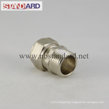Brass Compress Fitting with Male Coupling