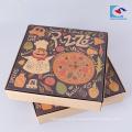 gewellte Verpackungskasten der kundenspezifischen Pizza mit Eigenmarke