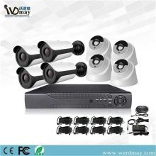 4.0MP IR HD kyamarori 8chs ADH DVR sets