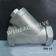 Acero inoxidable de baja presión CF8 Y Filtro Precio