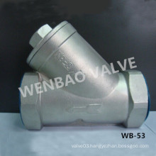Low Pressure Stainless Steel CF8 Y Filter Price