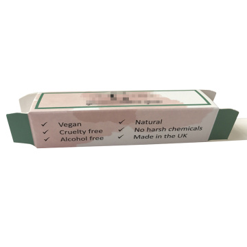 Atacado Custom Lip Gloss Paper Packaging