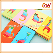 promotional hollow giraffe shaped memo pad & notepad for company