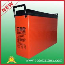 Batería de gel de terminal de acceso frontal Cbb 12V 180ah para telecomunicaciones