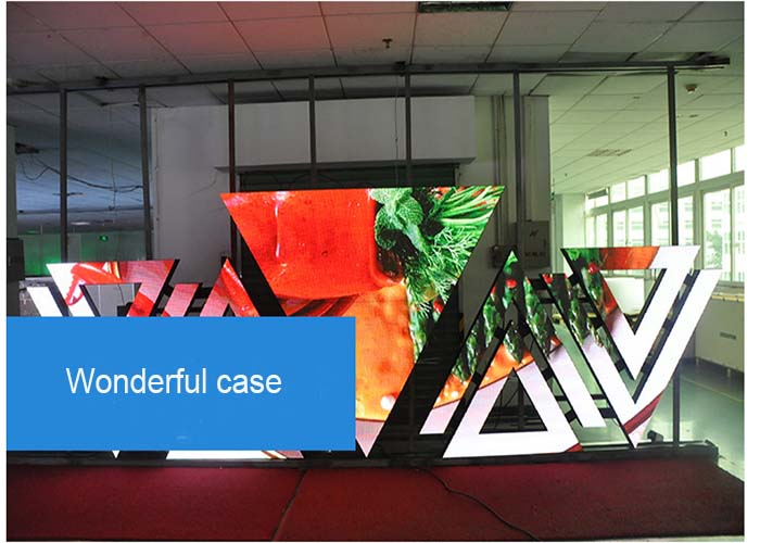 hanging installation, stand on ground or mobile using Customized led screen
