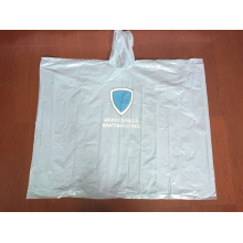 Disposbale PE Rain Poncho for Promotion