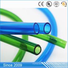 Tube de lait de PVC de catégorie comestible de 7 * 14mm, tuyau non-toxique de machine de lait de PVC