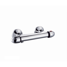 Bathroom Brass dual handle faucet shower panel Thermostatic faucet