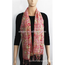 Bright Color Printed Cotton Scarf