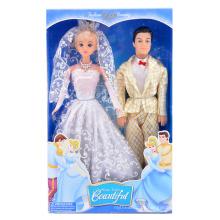 11 polegadas menina favor plástico princesa e príncipe boneca (10241463)