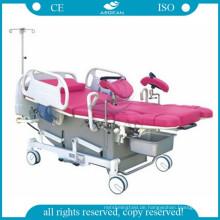 AG-C101A01 elektrische gynäkologische Tabelle der Krankenhausmutterschaftschirurgieklinik