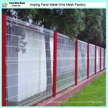 Обеспечение качества Дешевые ПВХ покрытием сварные сетки сад ограждения