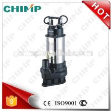 O CHIMP BOMBEIA as bombas de água submergíveis de aço inoxidável da água de esgoto de V1100Q 1.5HP