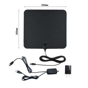 Falt Amplified Utral Thin Indoor Digital HDTV Antenna