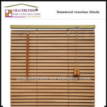 Ladder string.wand control 35mm basswood blinds