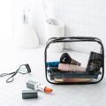 Sacos cosméticos transparentes do malote da composição do PVC