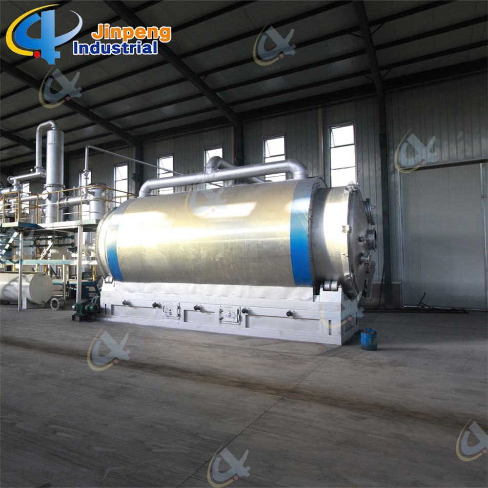 forklift solid tyre pyrolysis machine