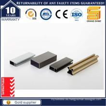 Aleación de aluminio / aleación de aluminio anodizado perfil cuadrado