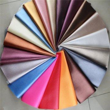 Couro sintético do couro do sofá do PVC do teste padrão do Litchi para a mobília (806 #)
