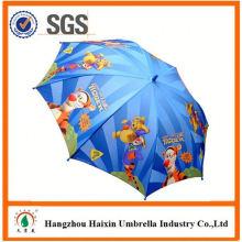 Professionnels Auto Open mignon impression enfants parapluie poe