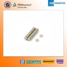 Imán de neodimio N42 D5 * 1 mm