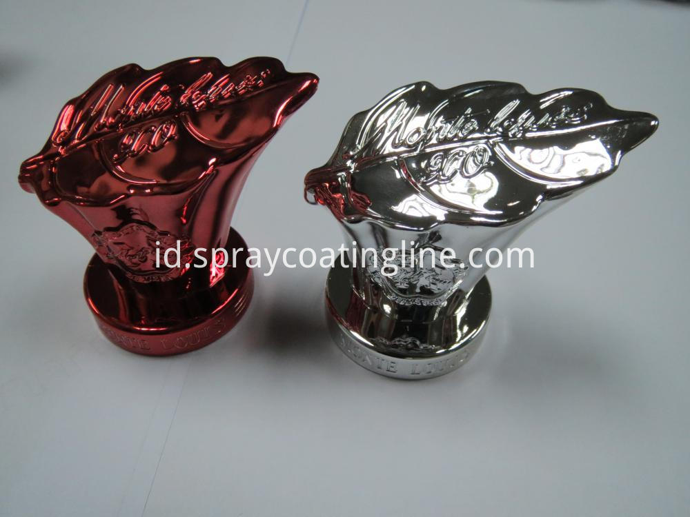 Red uv coating bottle cpa