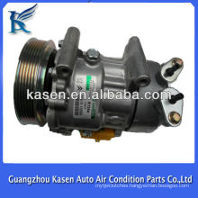 Sanden SD6V12 peugeot 307 peugeot 206 air condition compressor OE# SD1439 SD1438 SD1430 6453FR 6453LF 9646273880