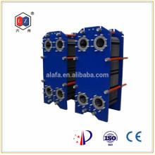 Chine en acier inoxydable chauffe-eau, huile hydraulique refroidisseur Alfa Laval M15M associés