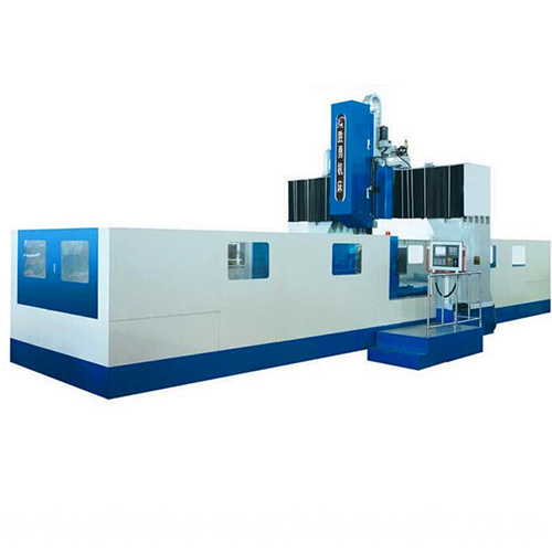 Bridge type milling machines