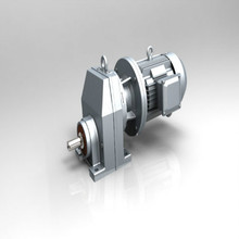 R Series Inline Helical Reducer Helical Gear Motor