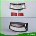 Novel Smile Solar PIR Motion Sensor Wall Light Easy Install Decorative Outdoor Dim Solar Garden Light
