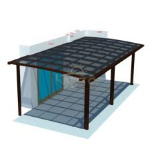 Metal Roofing Car Shade Structure Parking Carport