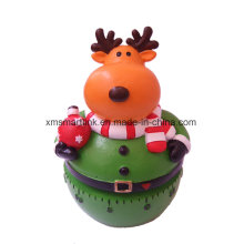 Christmas Elk (Reindeer) Kitchen Timer, Christmas Countdown Timer