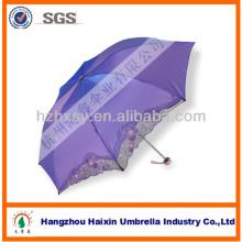 Guarda-chuva de tecido mágico tradicional chinês bordado