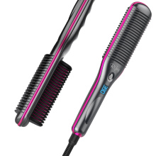 Hair Straightening Brush Electric Dryer Comb