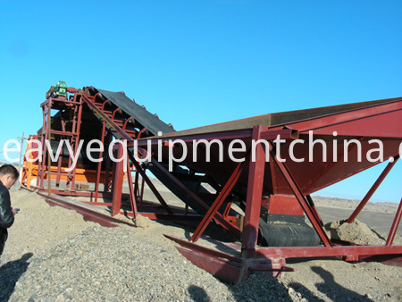 Vibrating Sand Screen