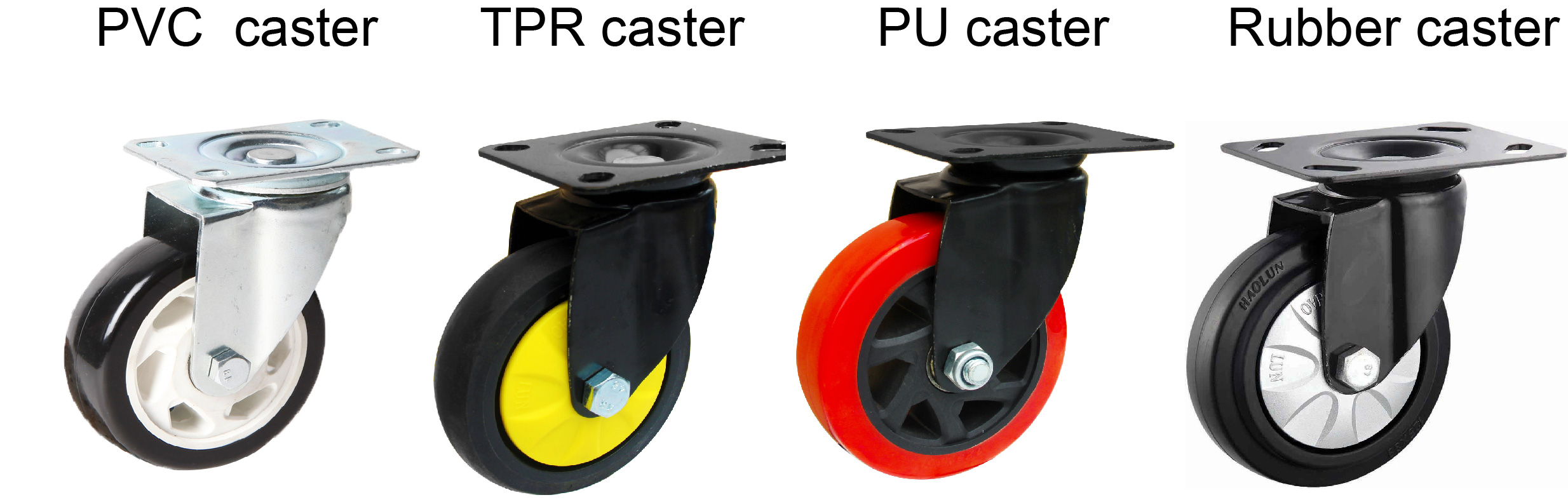 Plastic Platform Folding Hand Trolley caster wheels