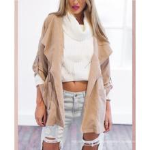 Fashionable Newest Commodity Fall Autumn Lady Windbreaker Hoodie Ladies Long Sleeve Coat Jackets