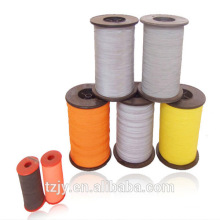 color reflective thread yarn for clothing double coated