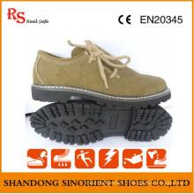 Chaussures de sécurité de style décontracté avec une bonne qualité en cuir RS737