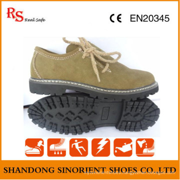 Casual Style Safety Shoes with Good Quality Leather RS737