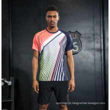 Camisa feita sob encomenda de alta qualidade do uniforme do jérsei do Badminton da juventude