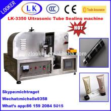 PLC control ultrasonic plastic tube welder for tube packing