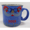 15oz Gift Color Glaze Ceramic Mug