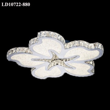 Celling Lamp Flower Design Led-lampor Crystal Taklampa