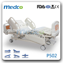 Medco P502 FDA / CE / ISO Утвержденный используется в ICU Room Electruc Пять функций Полноразмерная кровать для больниц